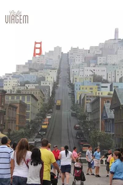 A Streets of America, onde os personagens aparecem de supresa