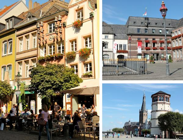 Iniciando o percurso pela Cidade Velha (Alstadt), seus marcos e praças
