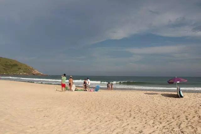Praia da Silveira SC