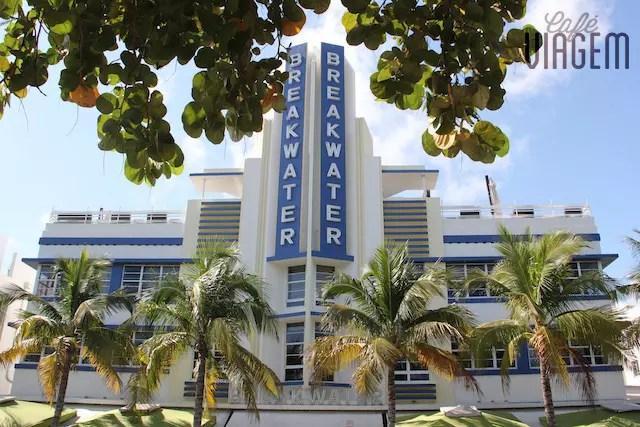 Um hotel histórico no Art Deco District