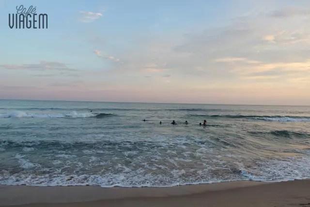 Praia da Silveira Canto Norte