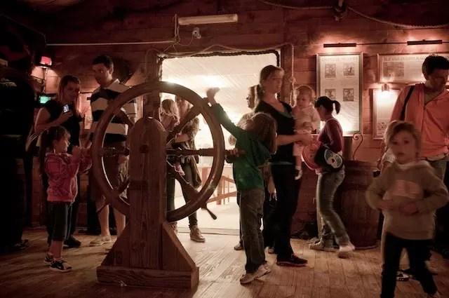 Sala dos Piratas - foto arquivo Museu do Mar