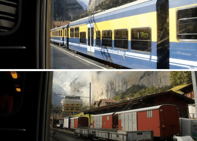 é preciso trocar de trem até o final do trajeto
