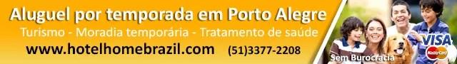 Aluguel temporada Porto Alegre
