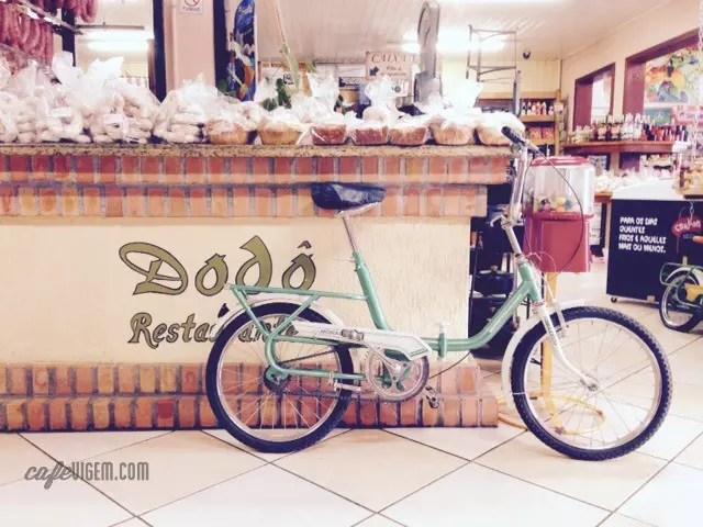 Um bom motivo para visitar o Morro: a vista e o Restaurante Dodô