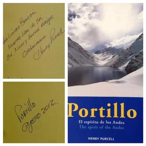 Meu marido gostou tanto que , na época que foi, comprou o livro do hotel com dedicatória de Henry Purcell, o dono da estação de Portillo