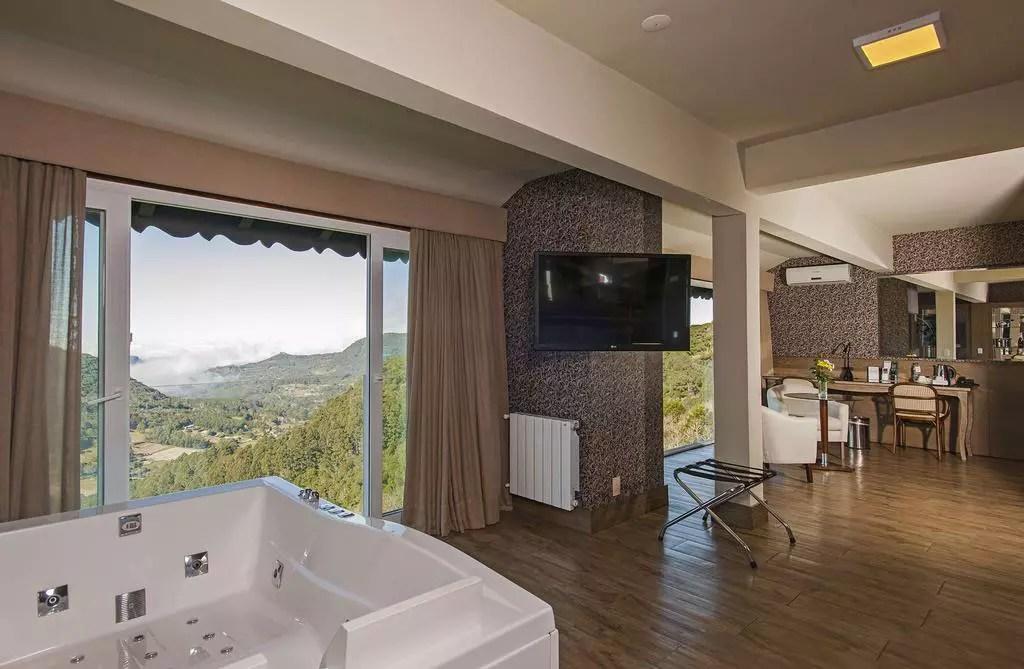 hotel em Gramado com banheira