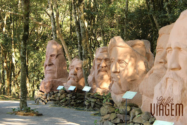 Parques Escultura Pedras do Silêncio Dicas de Nova Petrópolis