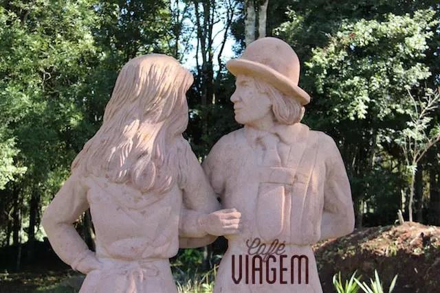 Dicas de Nova Petrópolis Parque das Esculturas