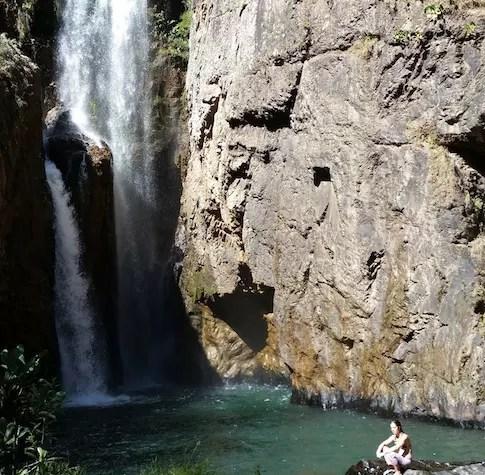 Cachoeira do Encontro - Macaquinhos d