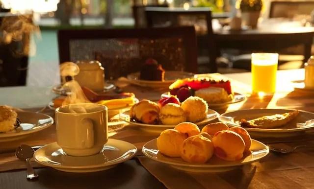 louca para tomar esse café da manhã, hummm