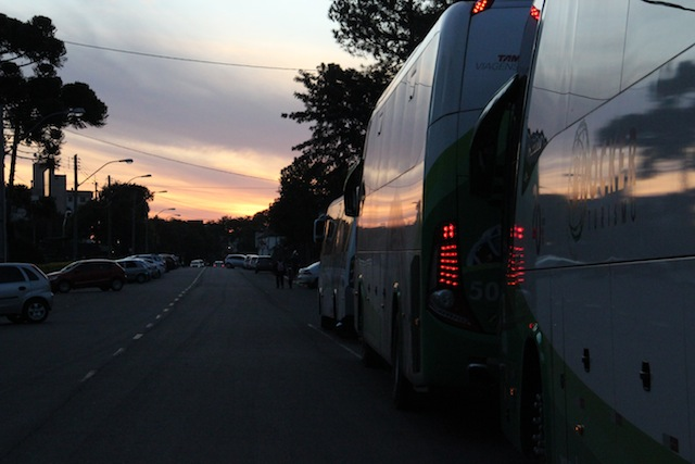 fim do dia, fim do passeio, retorno para Gramado