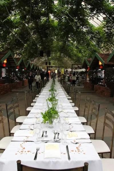 O Gastronômade, uma das atrações que abriu o festival
