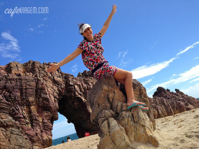 A Pedra Furada, uma das atrações turísticas que me aguardavam em Jeri
