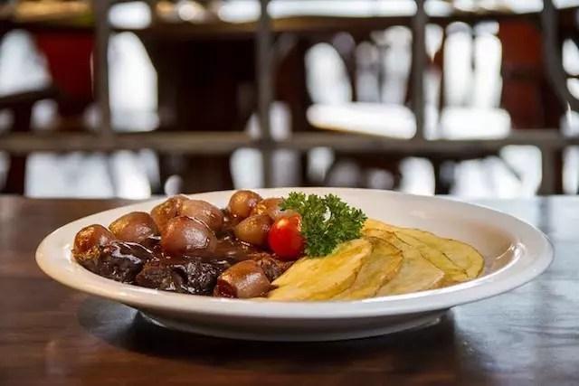 O prato do El Fuego do Tour Gastronômico. Foto divulgação