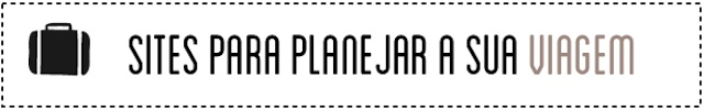 Melhores sites planejar viagem
