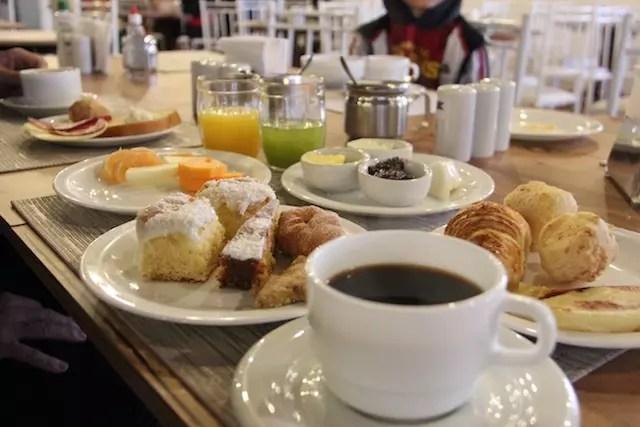 as delícias do café da manhã