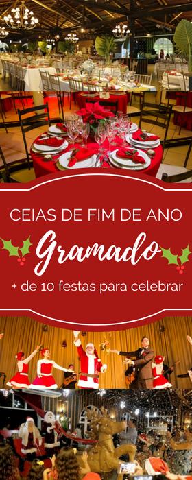 Ceia de Natal em Gramado