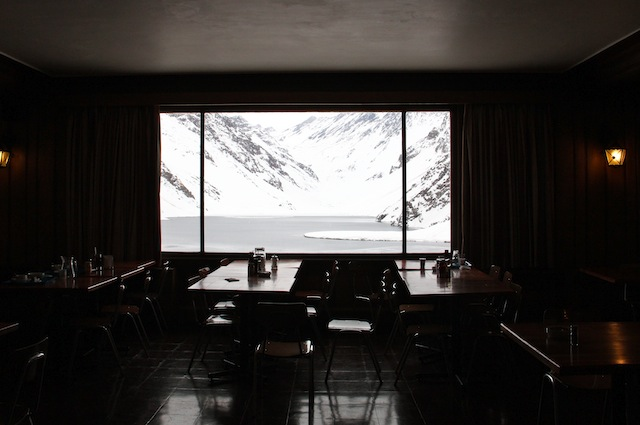 O visual do restaurante mais simples também é lindo
