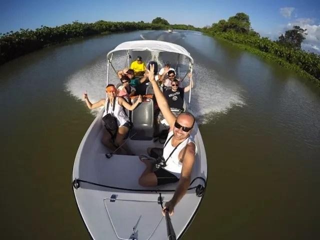 Foto Maurício Oliveira (Trilhas e Aventuras) da nossa lancha