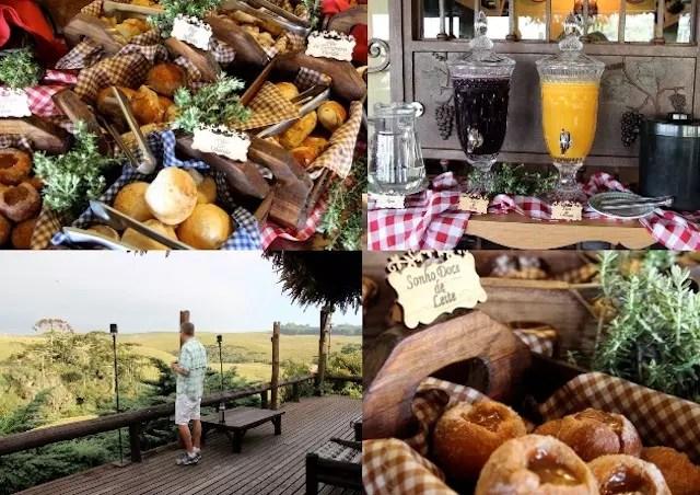Parador Casa da Montanha breakfast