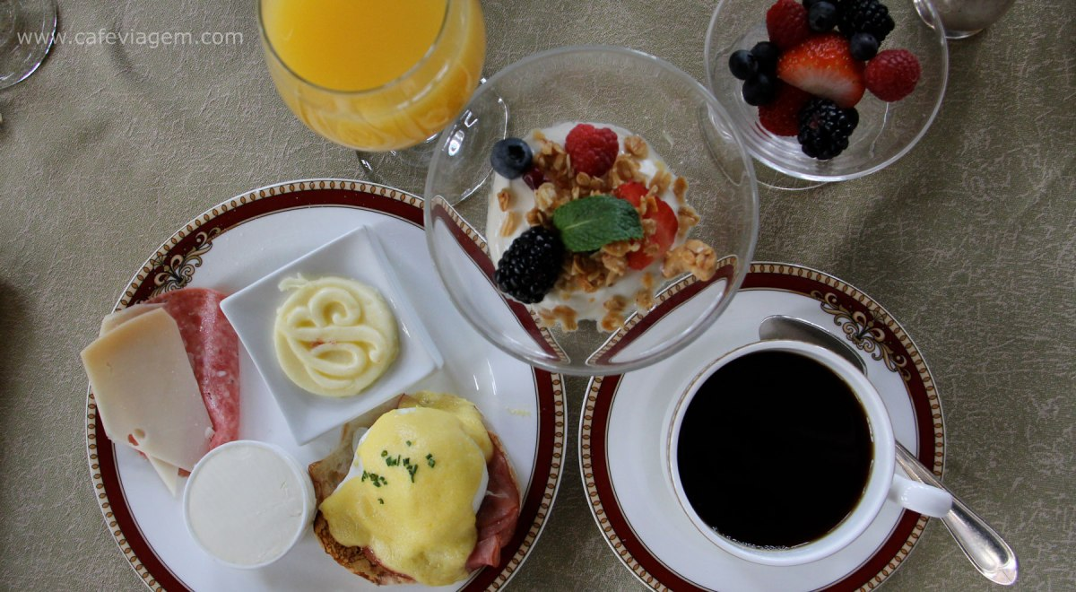 cafes da manhã de hotel