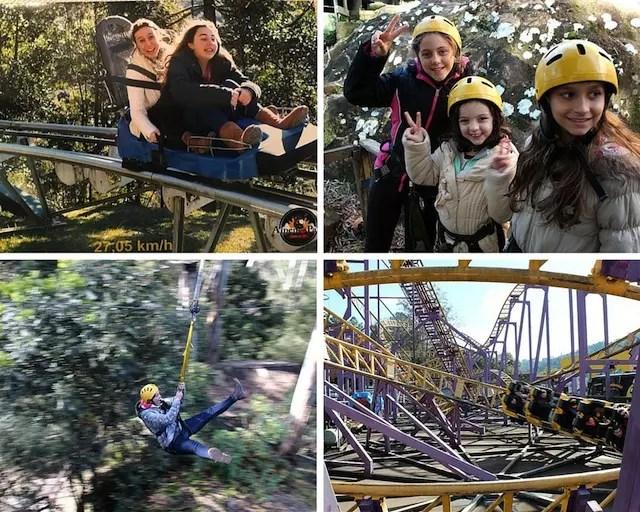 Alpen Park, diversão e aventura em família, delícia!