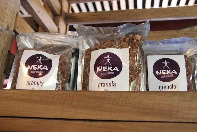 fiquei com desejo de provar esta granola da Neka... hummm