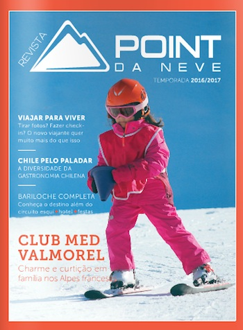 A capa da revista