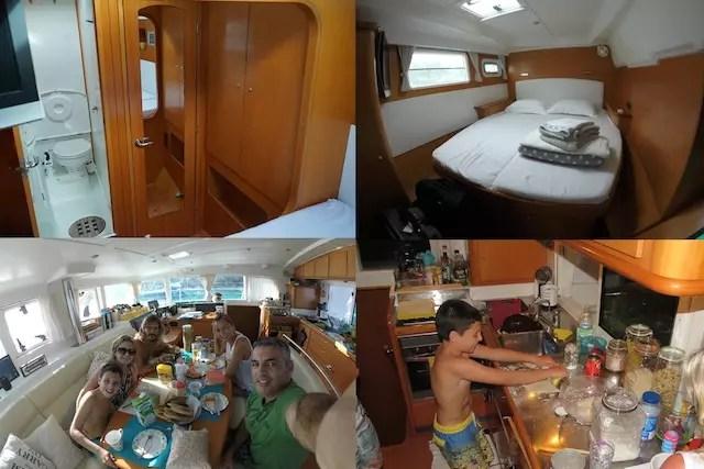 San Blas de barco