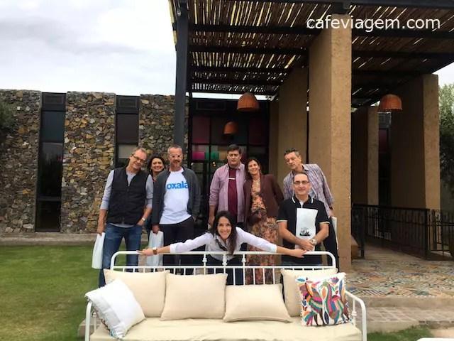 almoço na El Enemigo em Mendoza