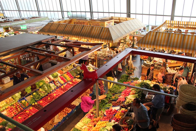 mercado gastronomico da Alemanha Frankfurt