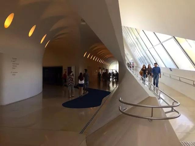 Museu do Amanha por dentro