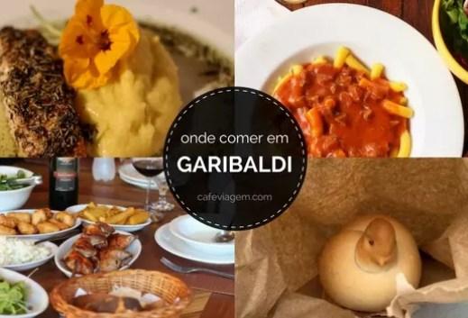 onde comer em Garibaldi d