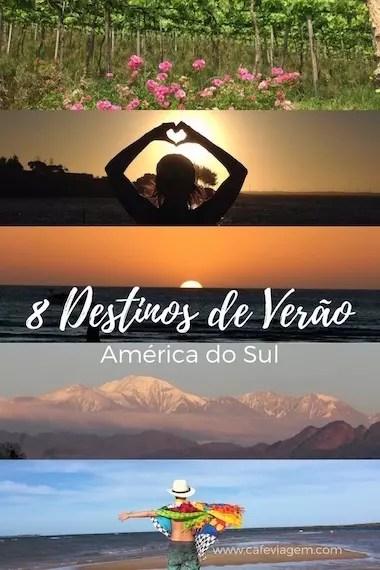 destinos de verão na América do Sul