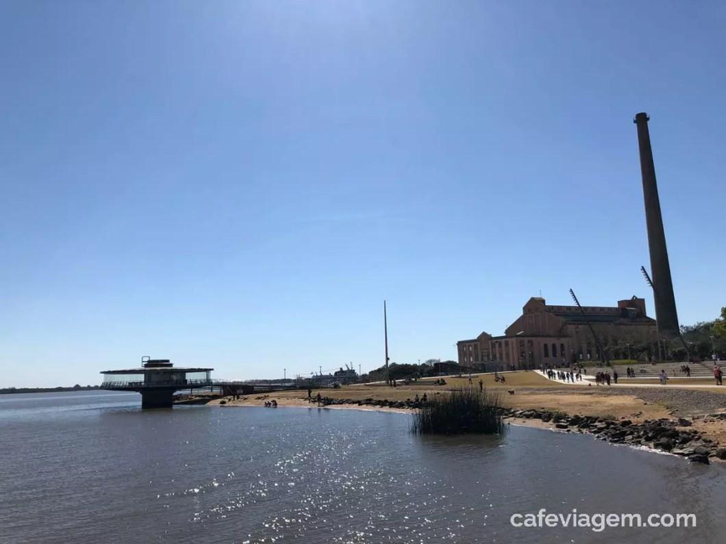 orla do Guaíba revitalizada Porto Alegre