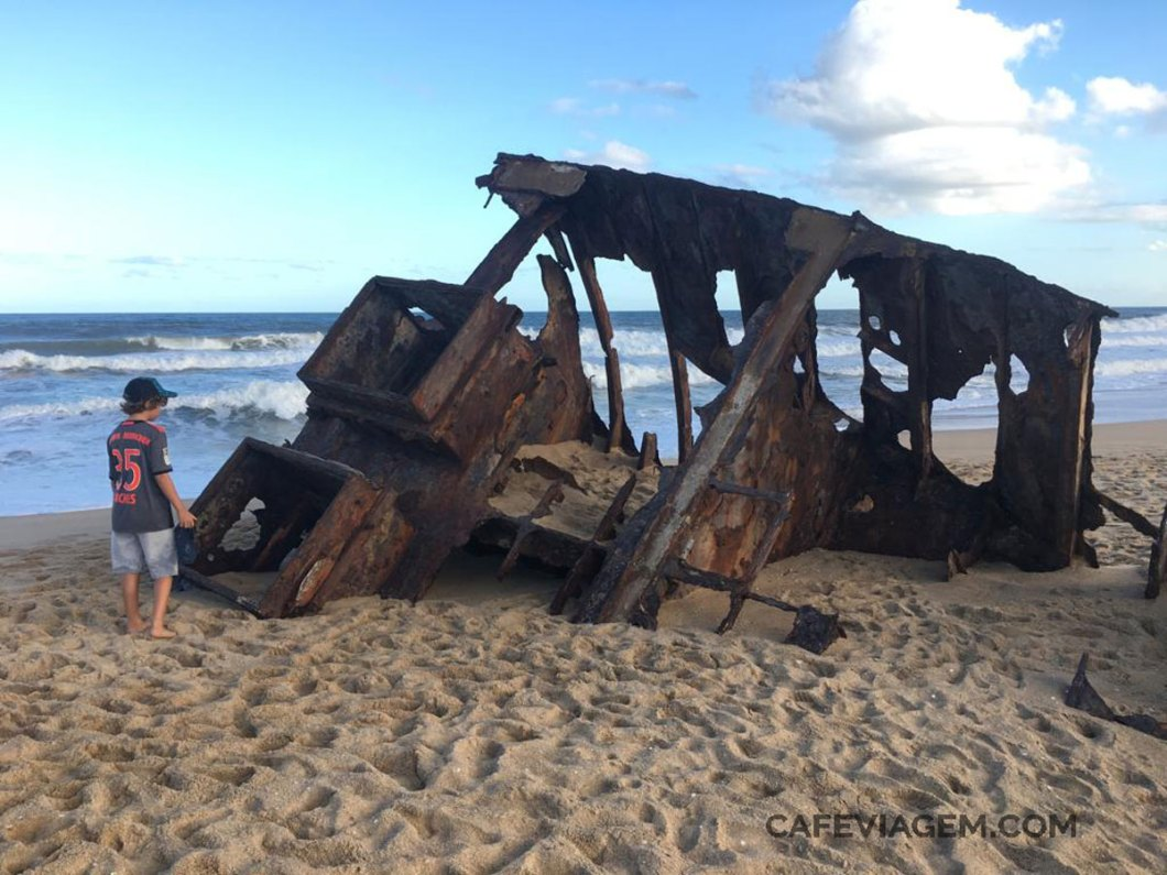 Praia El Barco em La Pedrera Uruguai