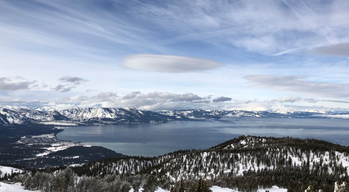 esqui em Heavenly Lake Tahoe California