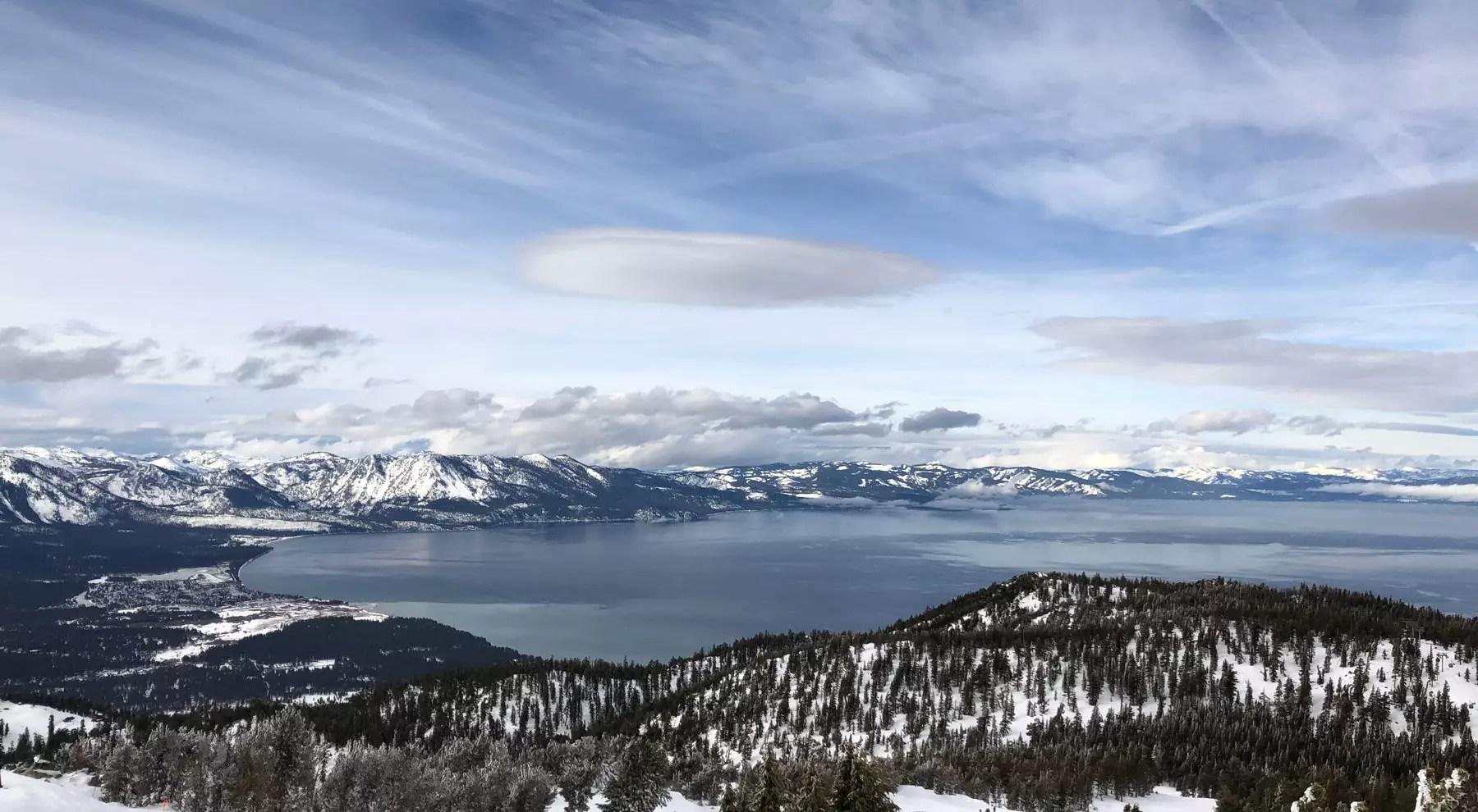 esqui em Heavenly Lake Tahoe California