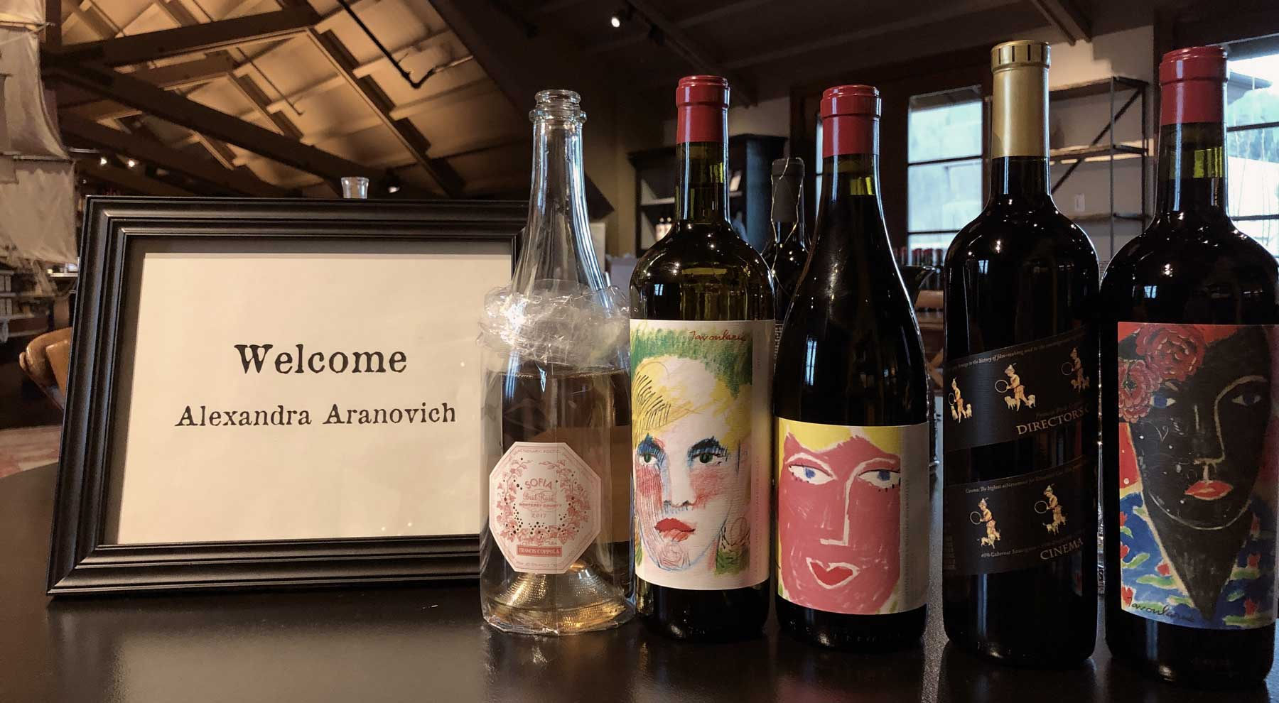 vinícola do Coppola