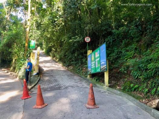 A primeira entrada da Pedra Bonita no Rio
