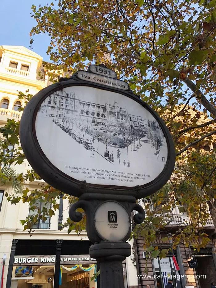 roteiro centro de Montevidéu