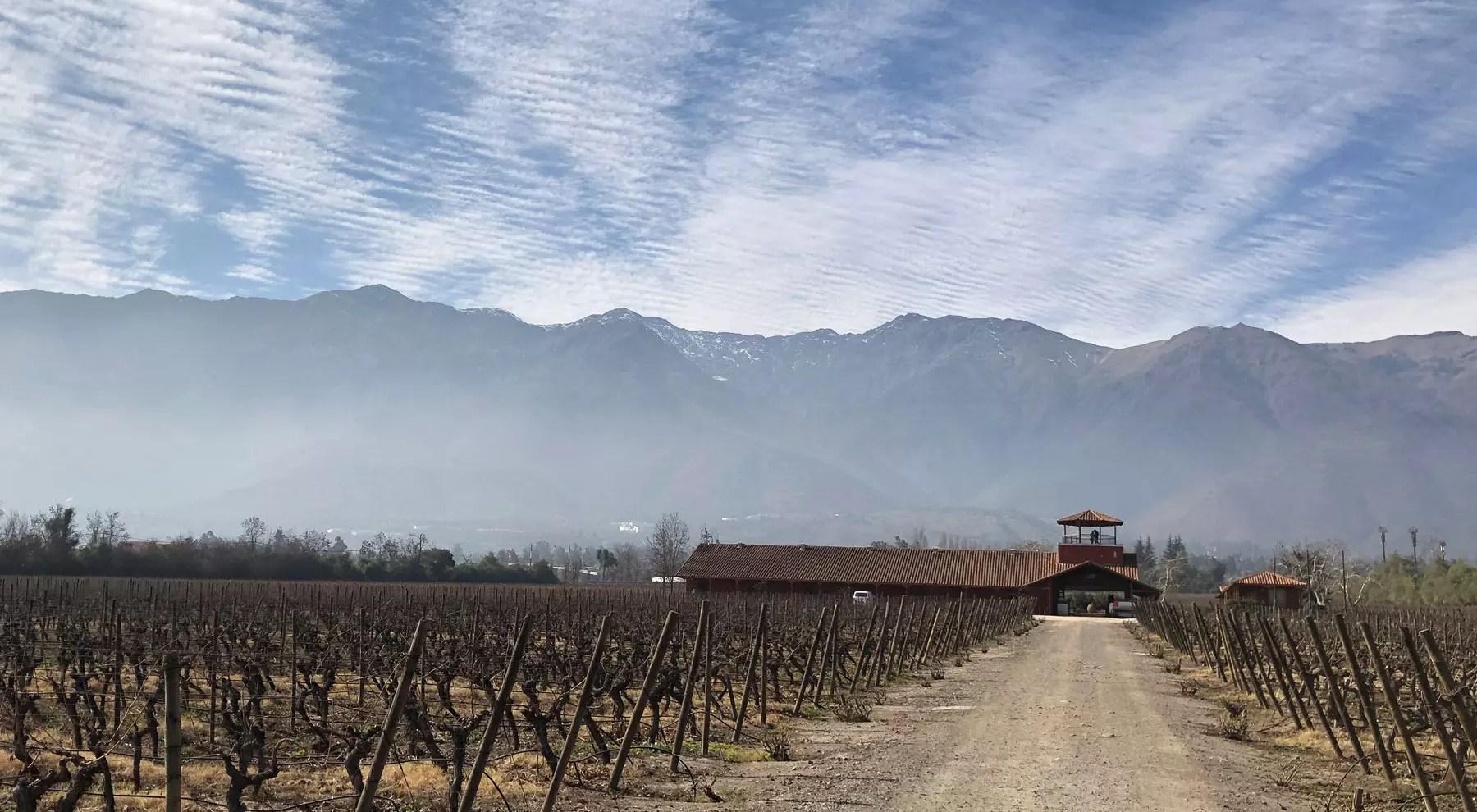 vinícolas próximas de Santiago do Chile