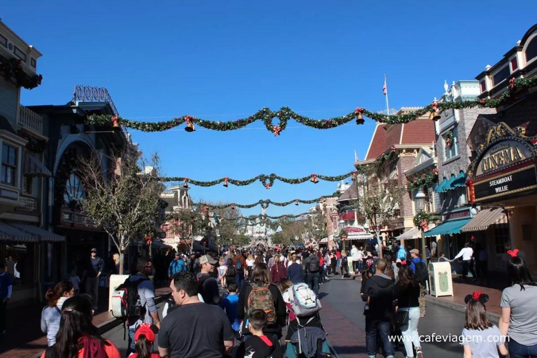 dicas Disneyland Califórnia na alta temporada