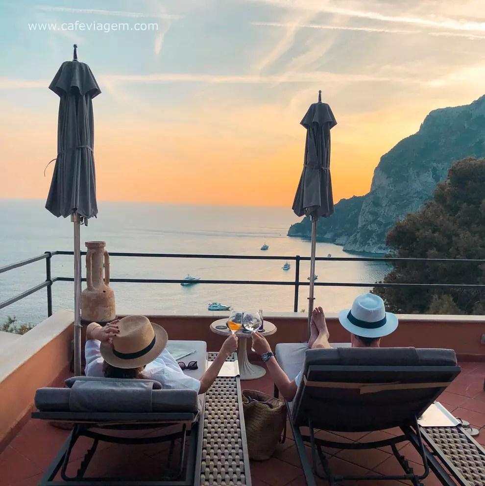 o que fazer em Capri Punta Tragara