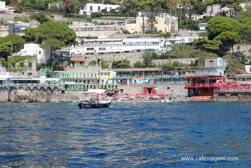Marina Piccola em Capri