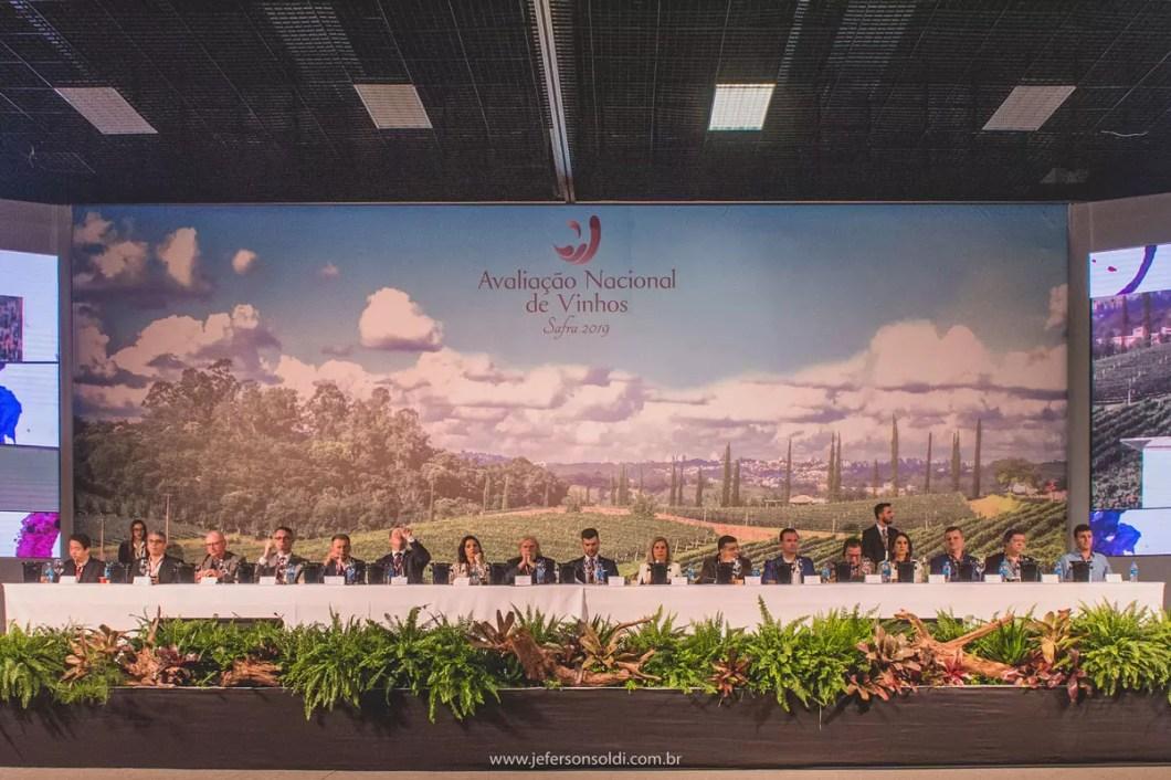 comentaristas Avaliação Nacional de Vinhos safra 2019