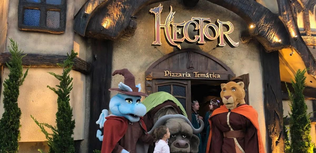 Hector pizzaria temática Gramado