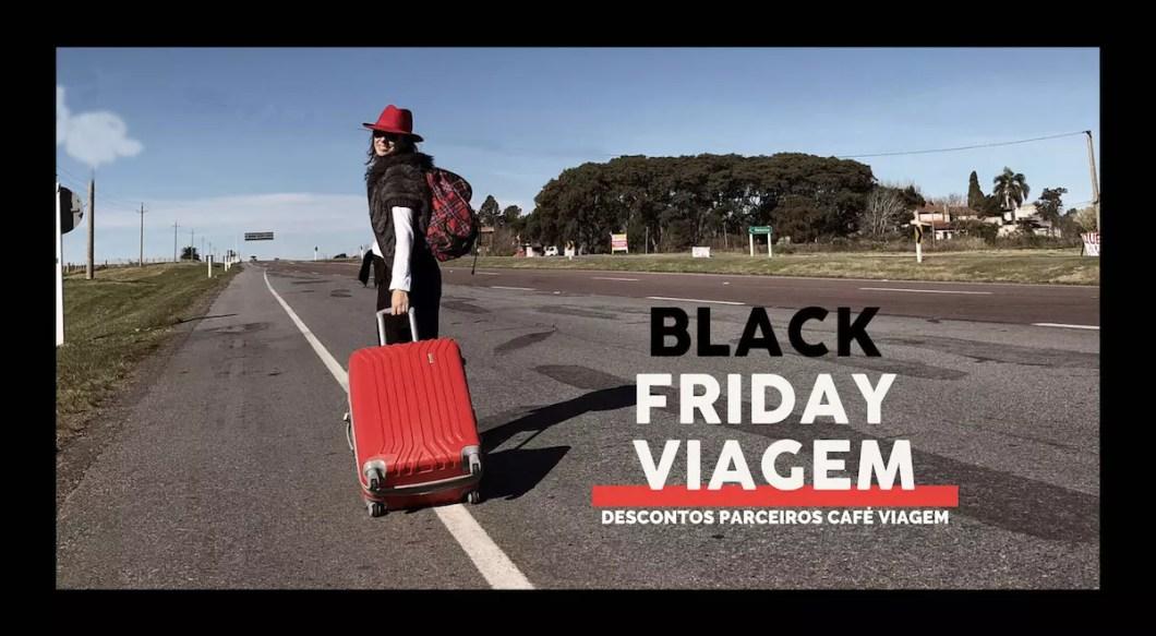 descontos Black Friday viagem