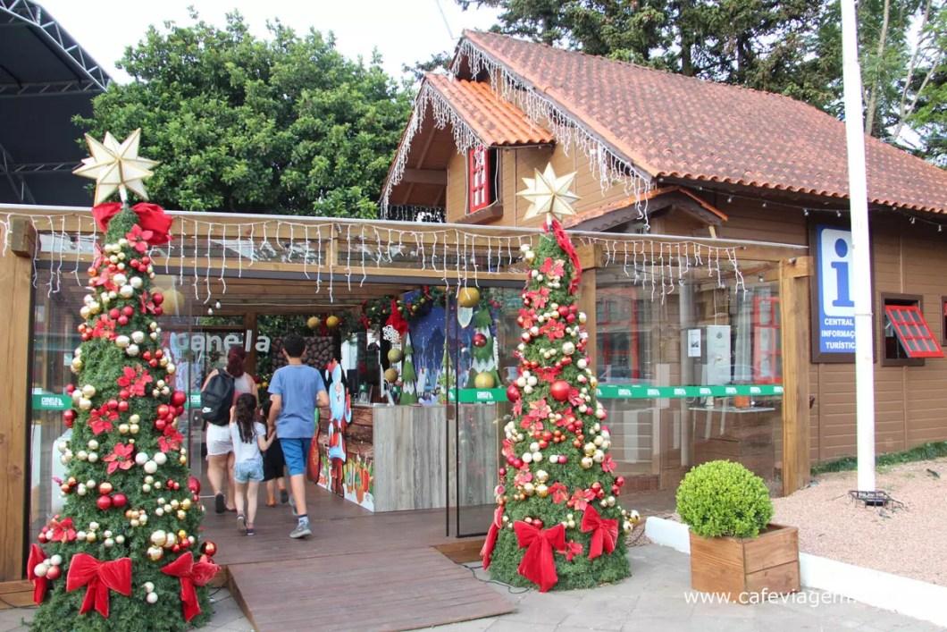 Casa do Papai Noel Canela
